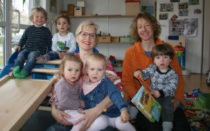 Aufnahme von Petis Sterntaler und Unterstützung Antje aus dem Littenweiler Dorfblatt